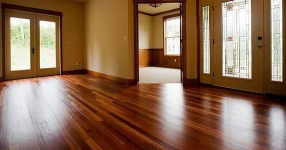piso de madeira